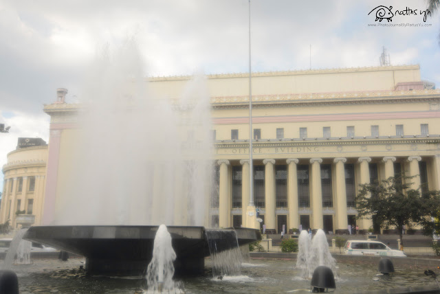 Manila Post Office Building, Lawton, Bonifacio Plaza