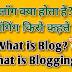 ब्लॉग क्या होता है? ब्लॉगिंग किसे कहते हैं?