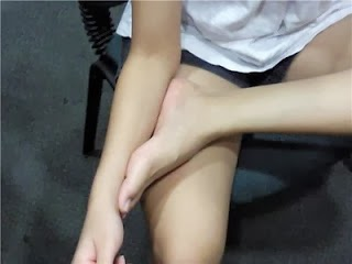 Foot and forearm same lengths