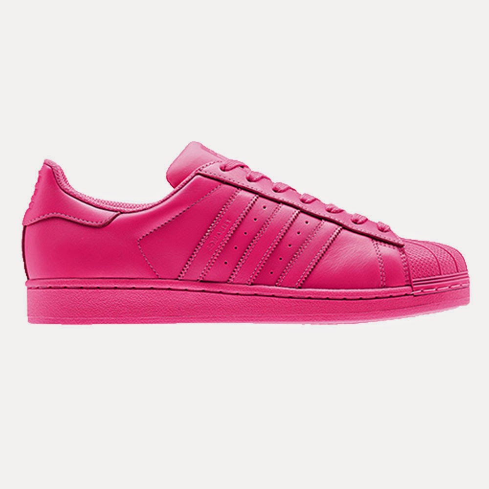 low priced c5adb dce4e adidas Originals - Superstar Supercolor. adidas originals x pharrell  williams. Semi Solar Pink ...