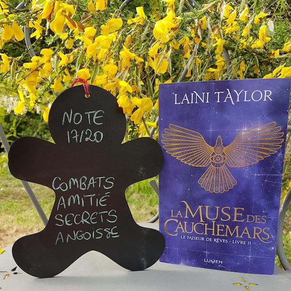 Le faiseur de rêves, tome 2 : La muse des cauchemars de Laini Taylor
