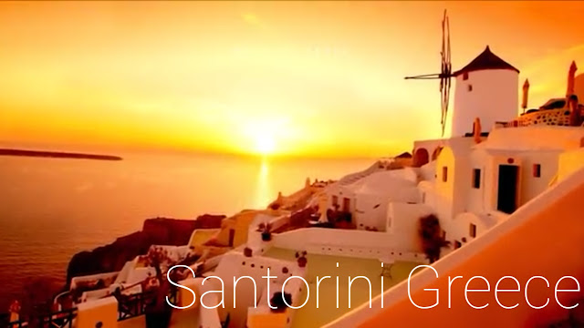 SANTORINI GREECE ISLANDS