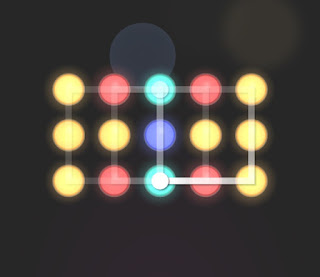 Solution, Cheats, Walkthrough for Neon Hack [Neon Dots] Level 49