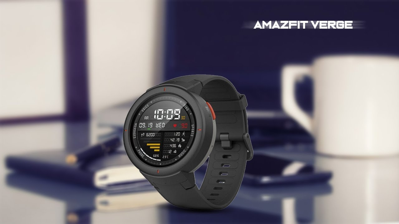 xiaomi huami amazfit verge smartwatch with us brings voice assistant