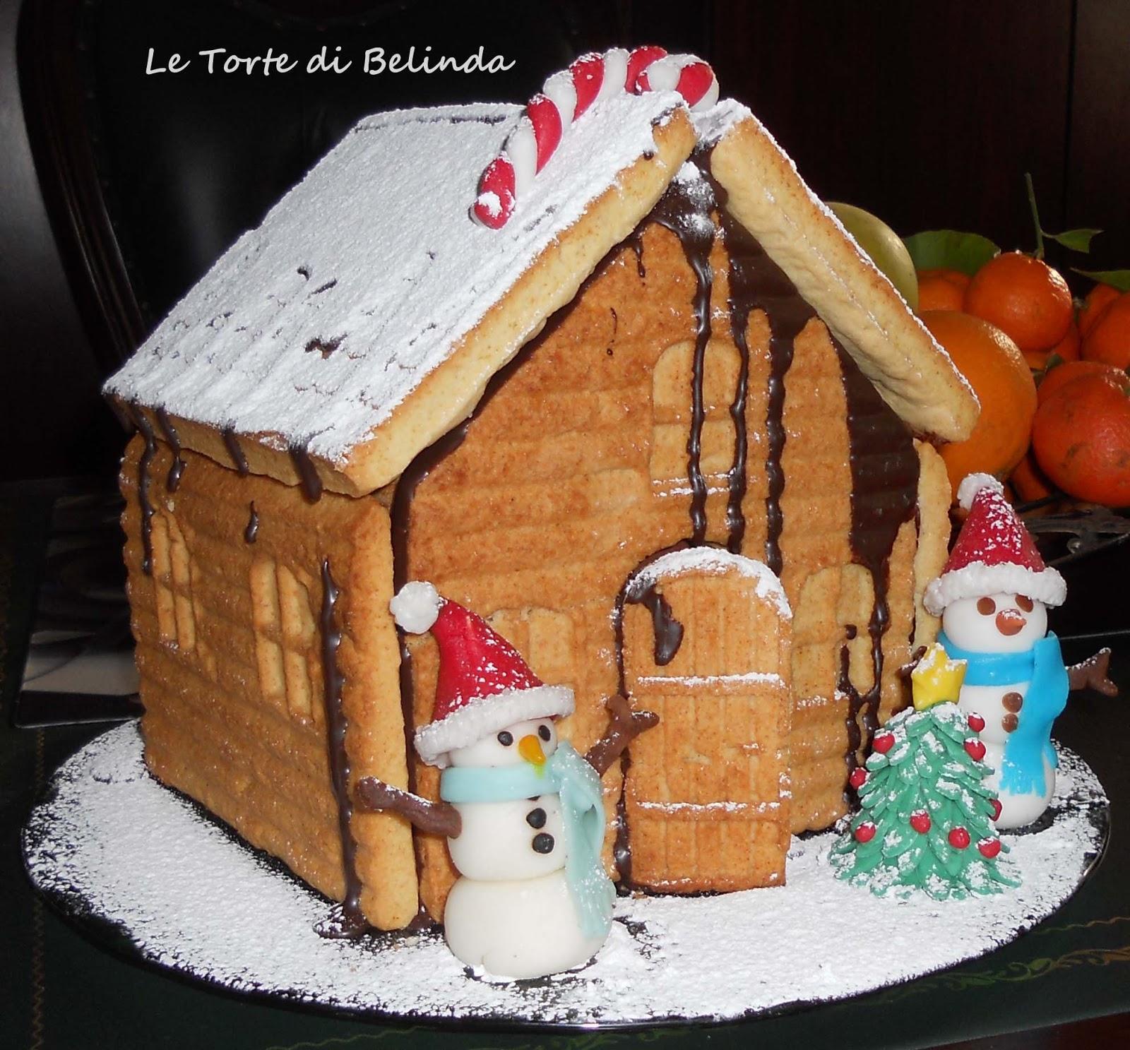 Le torte di belinda ma non solo la casetta for Casa a forma di v