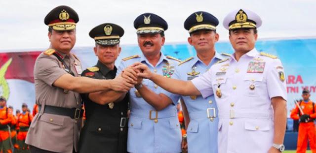 Panglima TNI Mutasi 9 Jenderal, Mantan Pengawal SBY Naik Pangkat