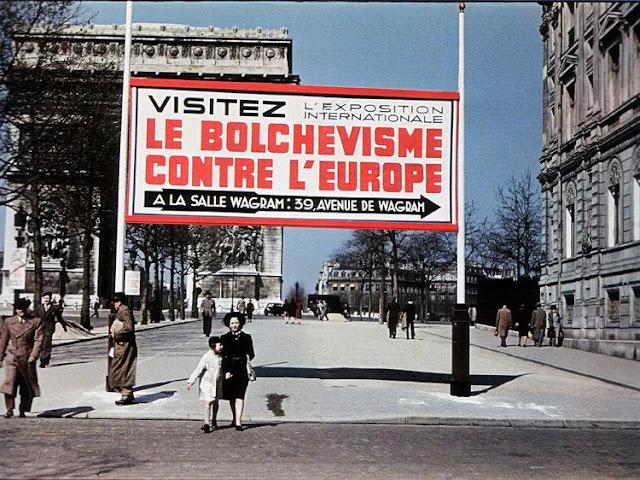 Fotografías a color de París durante la ocupación nazi