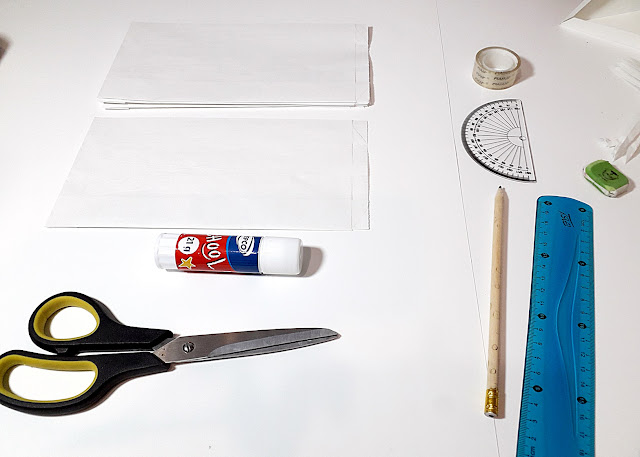 jak zrobic gwiazde z papierowych torebek?