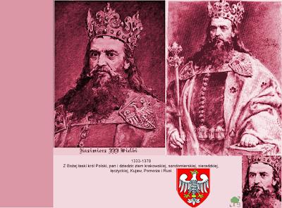 Kazimierz III Wielki, róż, różowy, czerwień, czerwony