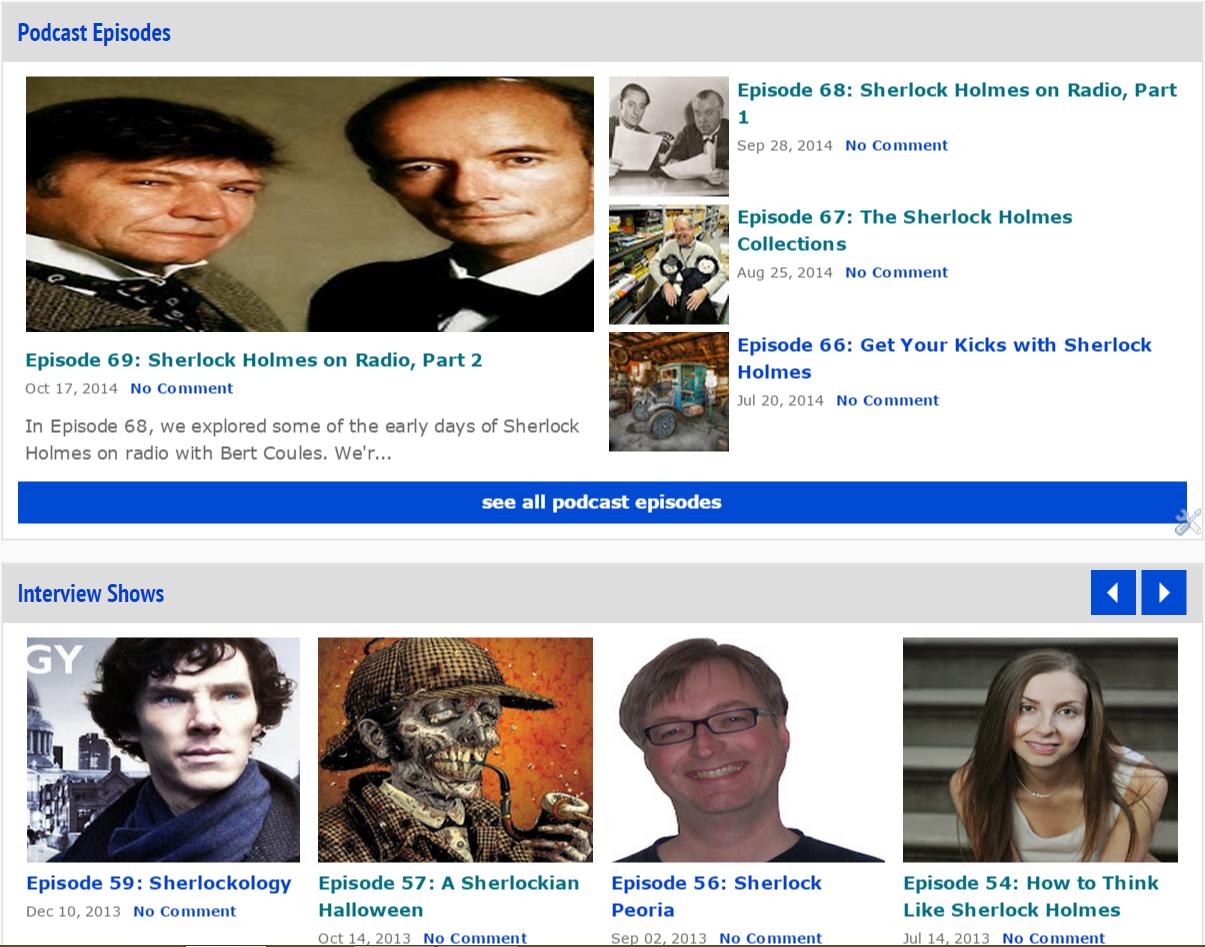 November 2014 - I Hear of Sherlock Everywhere