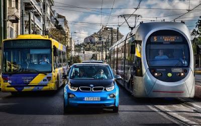 Επιτυχίες για το BMW i3 στο Hi-Tech EKO Mobility Rally 2016