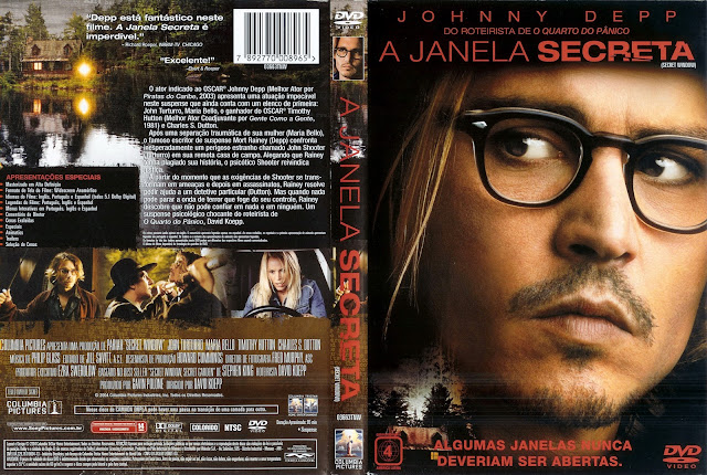 Capa DVD A Janela Secreta