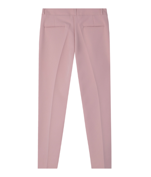 Cropped Tapered Leg Slacks