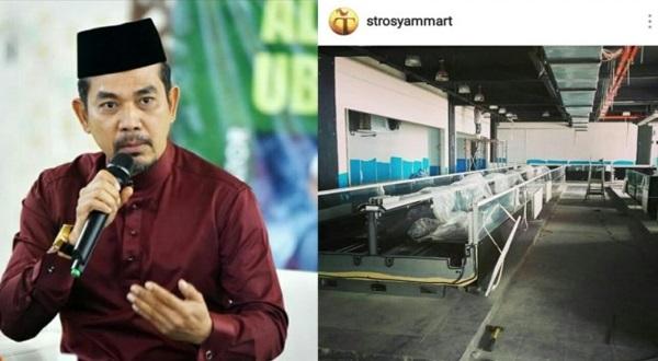 Datuk Rosyam Nor Buka Pasar Raya, Mahu Bantu Masyarakat