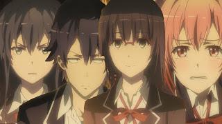 جميع حلقات انمي  Yahari Ore no Seishun Love Comedy wa Machigatteiru  مترجم عدة روابط