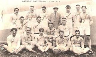 aviron bayonnais autrefois