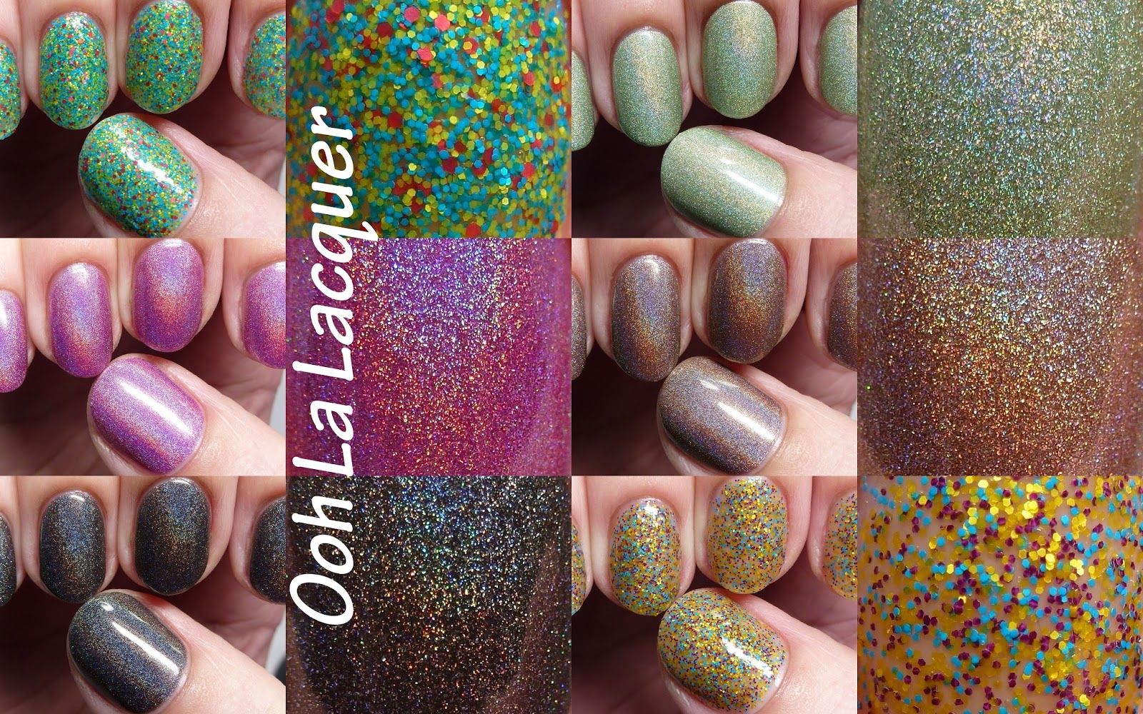 The Polished Hippy: Ooh La Lacquer swatches