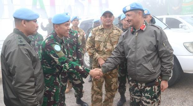 DFC Unifil Tinjau Wilayah Operasi Indobatt di Lebanon