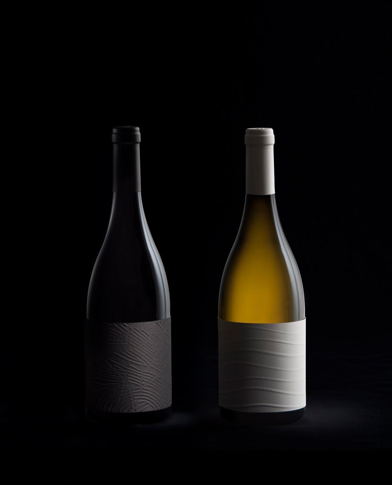 SAVI / AQUI Wine Label Designed By Pablo Calzado, Mario Montull, María López