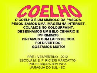 Coelho de Páscoa