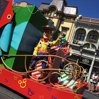 disney toy story woody magic kingdom
