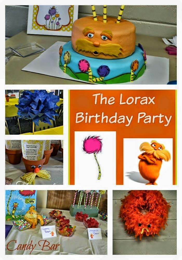 Lorax Birthday party ideas