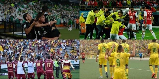 Resumo da rodada e programação da semifinal no Campeonato Colombiano