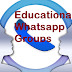 200+ Educational and Professional Whatsapp Groups.