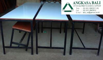 jual meja kantin dan kursi kantin di bali