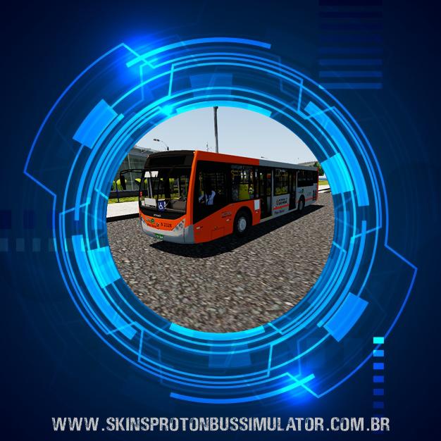 Skin Proton Bus Simulator - Caio Millenium III MB O-500U BT5 Consórcio Sudoeste