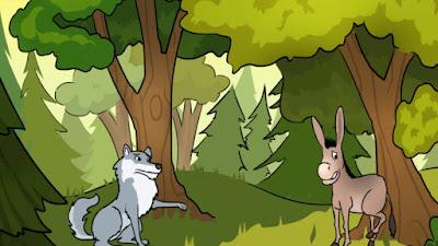 قصص اطفال :قصة الذئب المكار