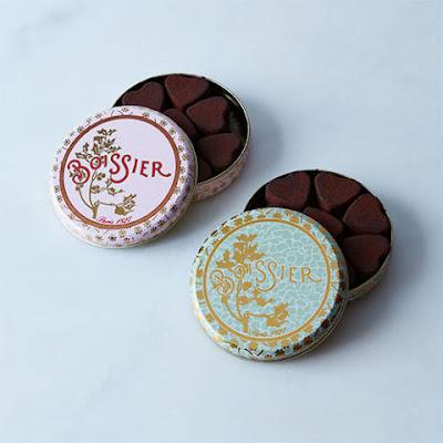 Cœurs de truffe au chocolat