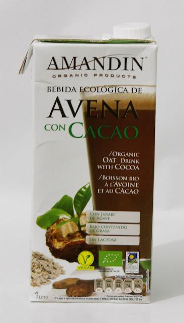 Bebida de avena con cacao Amandín