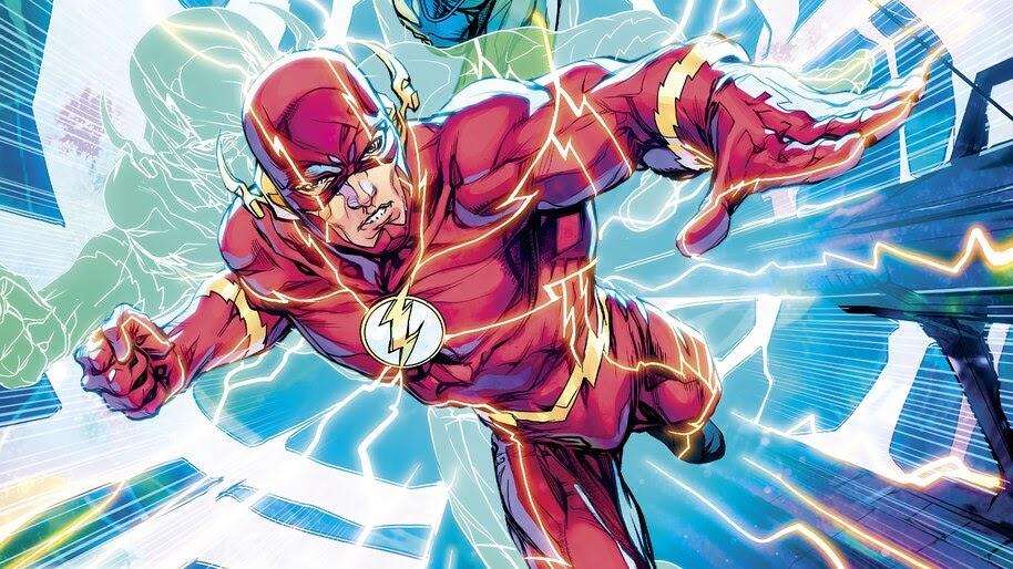 The Flash, DC, Comics, 4K, #4.2913