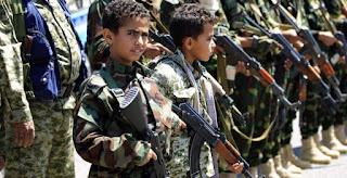 Teroris Syiah Houtsi Rekrut 23.000 Anak-Anak, Lebih dari 4 Juta Anak Putus Sekolah