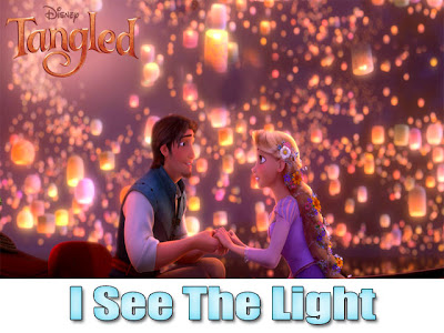 Tangled I See The Light Boat Scene