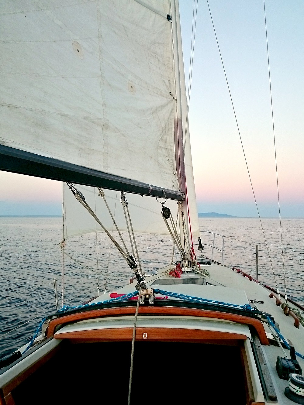Sailing at Sunset