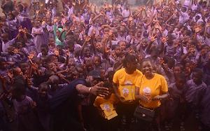 Tuface & Annie Idibia's Kids Kick-Starts Foundation For Pupils[Photos]