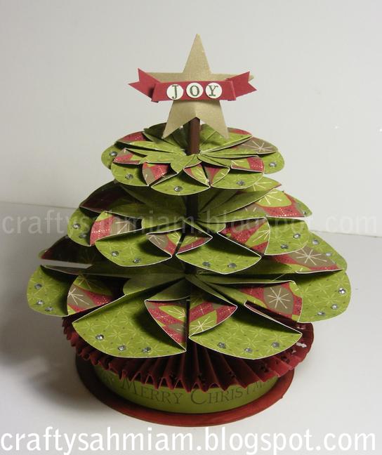 Paper Folding Christmas Tree