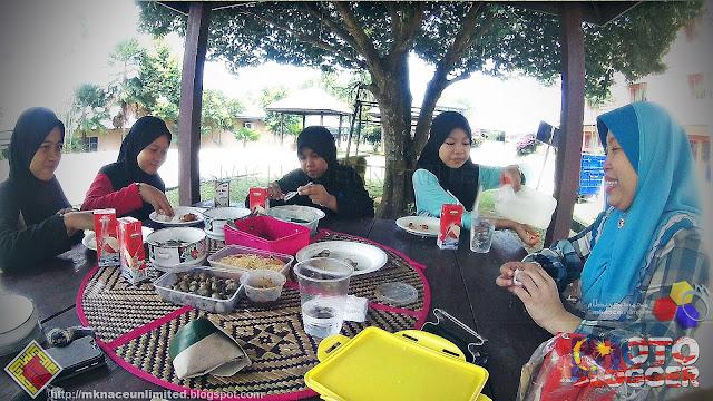 Jom makan-makan : Lawatan STF 20160408