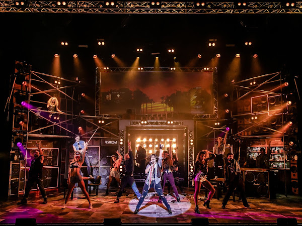 Rock of Ages (UK Tour), New Wimbledon Theatre   Review