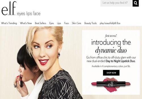 ELF Cosmetics Free Shipping Promo Code