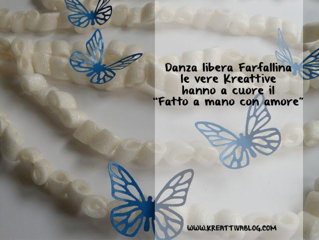 farfalle di carta per decorare una festa