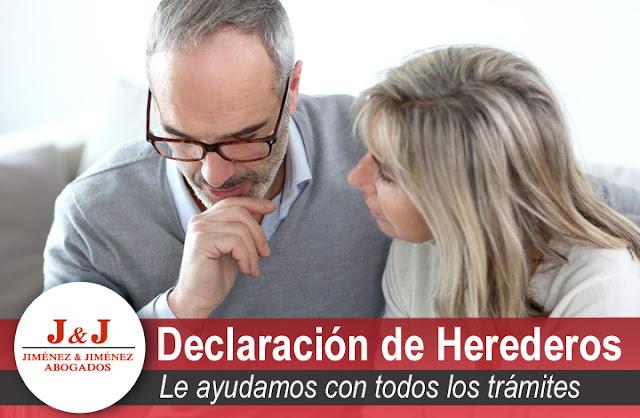 Trámites para obtener la Declaración de herederos en Málaga