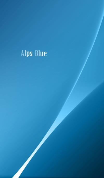 Alps Blue