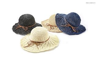 Cappelli di paglia moda donna