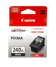 PG-240XL Black Ink Cartridge For Canon PIXMA MG2120