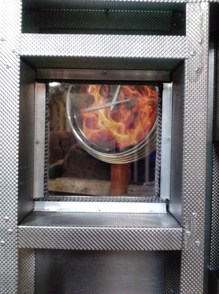 Powder Coating Oven Window
