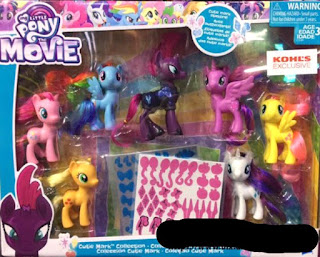 Kohl's/Argos Exclusive Cutie Mark Collection Found