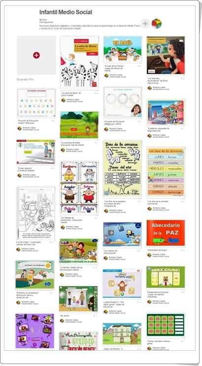 """""""Conjunto de juegos y actividades de Medio Social de Educación Infantil"""""""
